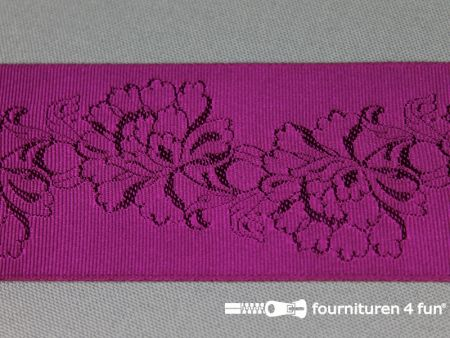 Floral lint 48mm cyclaam