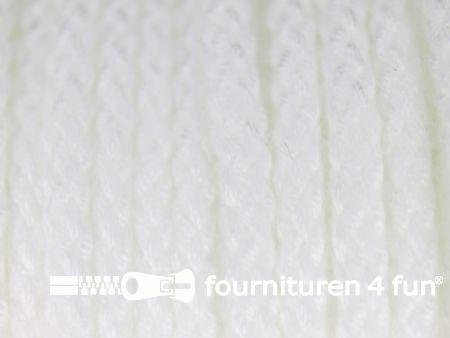 Jassen koord 4mm wit