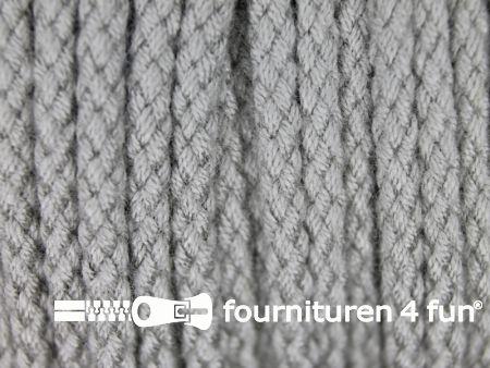Jassen koord 4mm licht grijs