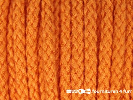 Jassen koord 4mm oranje