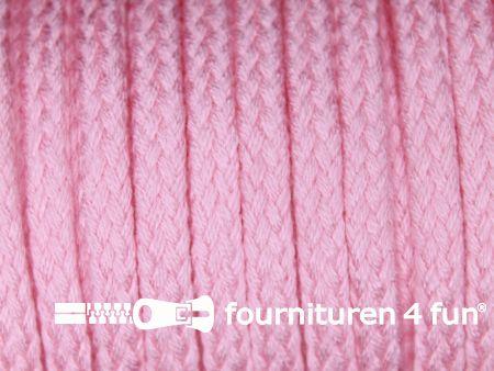 Jassen koord 6 tot 8mm licht roze
