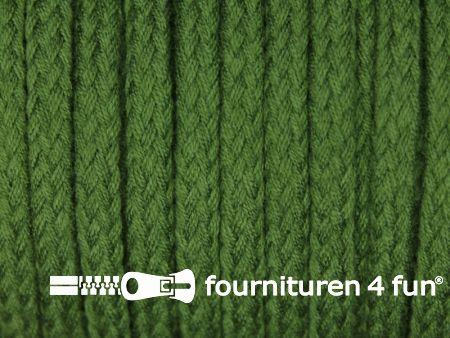Jassen koord 6 tot 8mm licht leger groen