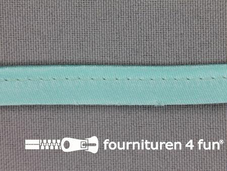 Satijnen paspelband 10mm turquoise