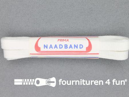 Naadband 7mm wit bosje 4 meter