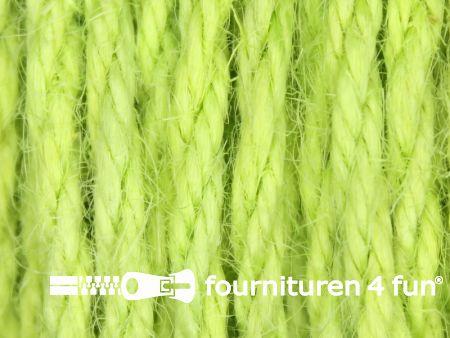 Jute koord 4mm lime groen