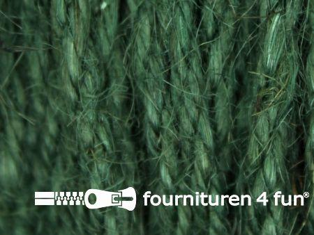Jute koord 4mm jagers groen