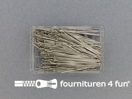 Kopspelden staal 0.60x34mm - 25 gram - Koh-I-Noor