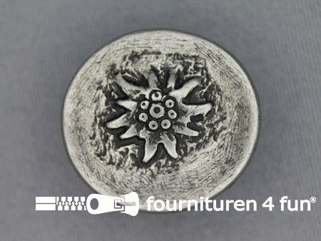 Landhuis knoop 28mm bloem