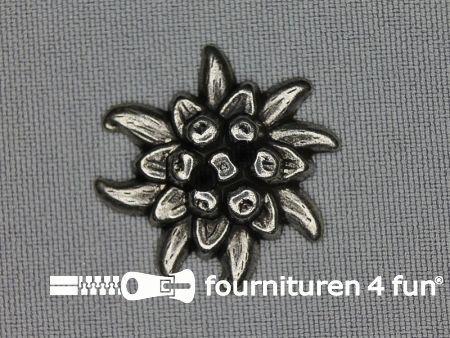 Landhuis knoop 28mm edelweiss