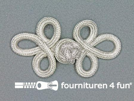 Brandenburger 35x95mm zilver