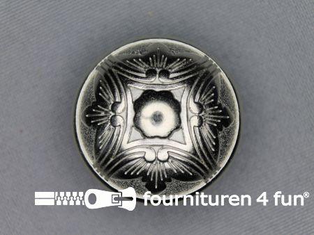 Chroom knoop 30mm antique