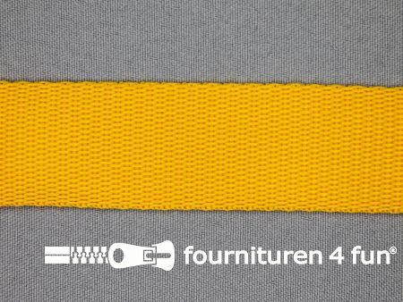 Parachute band 30mm oker geel