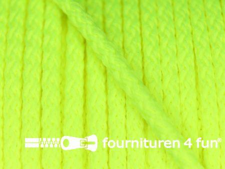 Jassen koord 3mm neon geel