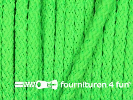 Jassen koord 3mm neon groen