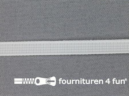 Baleinenband 6mm rigi wit