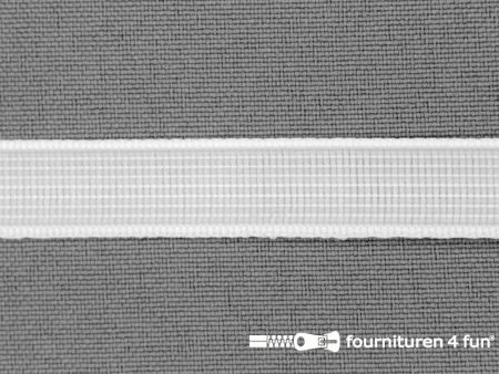 Baleinenband 12mm rigi wit