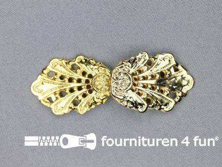 Siersluiting 26mm goud