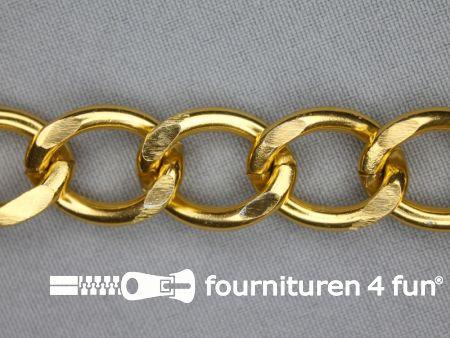 Ketting 18mm goud