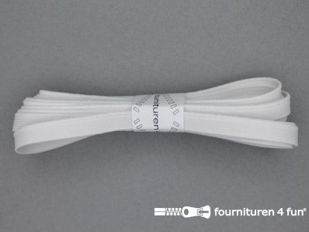 Band elastiek 10mm soepel wit 3 meter