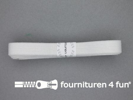 Band elastiek 14mm soepel wit 2 meter