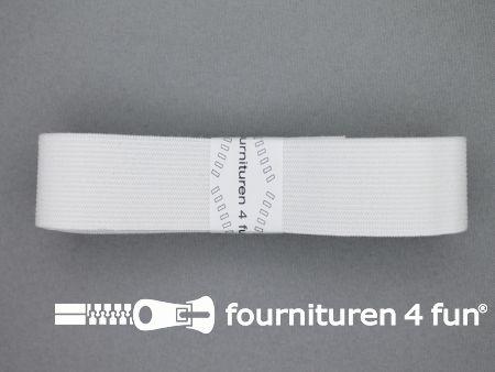 Band elastiek 30mm soepel wit 2 meter