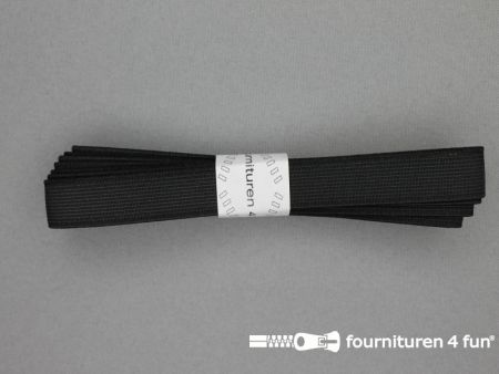 Band elastiek 20mm stevig zwart 2 meter
