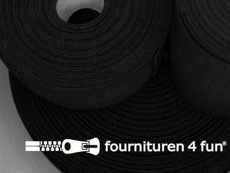 Band elastiek 20mm stevig rol zwart 50 meter