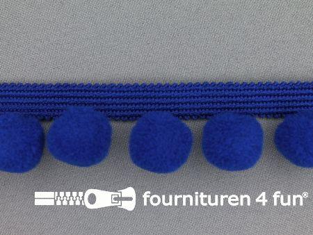 Bolletjesband 40mm donker kobalt blauw