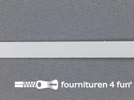 Baleinenband 7mm metaal wit