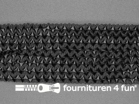 Bling bling band 40mm zwart