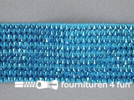 Bling bling band 40mm aqua blauw