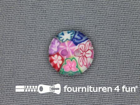 Ibiza knoop 13mm multicolor