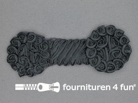 Brocante applicatie 48x123mm design antraciet