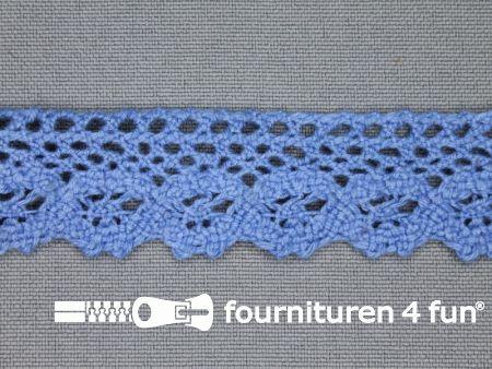 Ibiza broderie 23mm jeans blauw