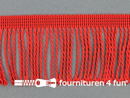 Nylon franje 60mm rood