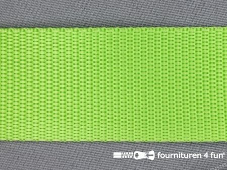 Parachute band 40mm lime groen