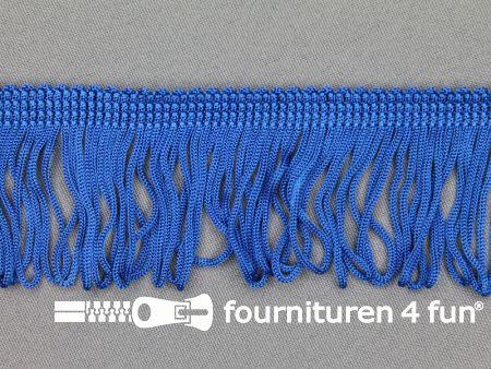 Charleston franje 45mm koren blauw