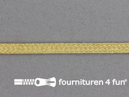 Brokaat goud band 6mm