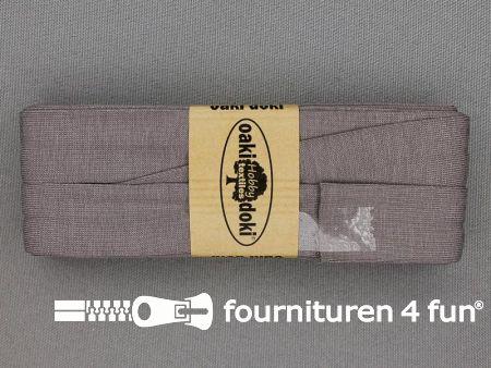 Tricot biaisband 20mm x 3 meter muis grijs (026)