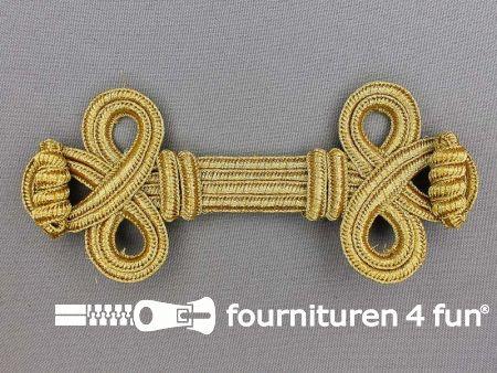 Brandenburger sierstuk 135x55mm goud