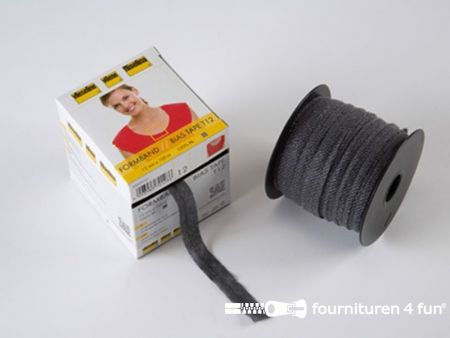 Vlieseline® Vormband 12mm zwart 100 meter rol