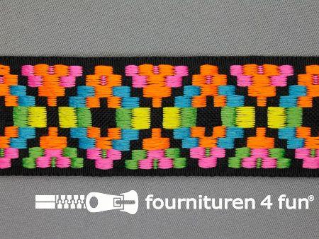 Indianenband 38mm multicolor neon