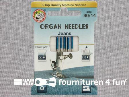 Organ Needles naaimachine naalden - Jeans 90