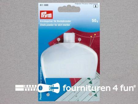 Prym krijtpoeder voor rokspuit / rokzoommeter - navulling - wit - 611886