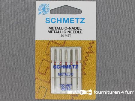 Schmetz machine naalden - metallic 80