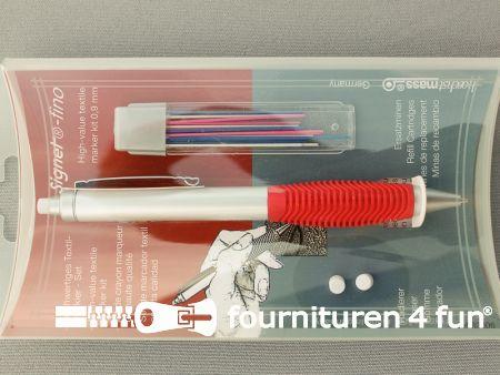 Hoechstmass® signet fino – textielmarkeer potloden set